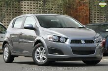 2014 Holden Barina TM MY14 CD Grey 6 Speed Automatic Hatchback Blacktown Blacktown Area Preview