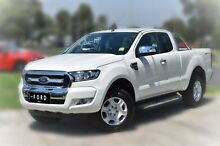 2015 Ford Ranger PX XLT Double Cab 4x2 Hi-Rider White 6 Speed Sports Automatic Utility Berwick Casey Area Preview