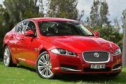 2014 Jaguar XF X250 MY15 Luxury Italian Racing Red 8 Speed Sports Automatic Sedan St James Victoria Park Area Preview