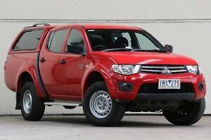 2011 Mitsubishi Triton Red Manual Utility Vermont Whitehorse Area Preview