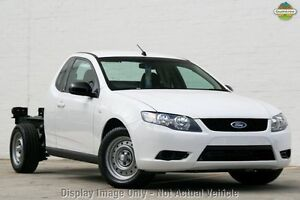 2009 Ford Falcon FG Super Cab White 4 Speed Sports Automatic Cab Chassis Osborne Park Stirling Area Preview