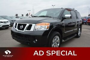 2013 Nissan Armada PLATINUM EDITION Navigation (GPS),  Leather,