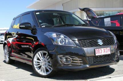 2015 Suzuki Swift FZ MY15 Sport Black 7 Speed Constant Variable Hatchback