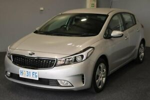 2017 Kia Cerato YD MY17 S Silver 6 Speed Sports Automatic Hatchback Glenorchy Glenorchy Area Preview