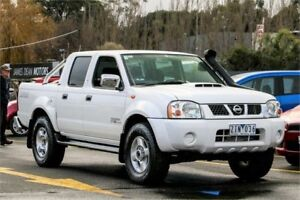 2012 Nissan Navara D22 S5 ST-R White 5 Speed Manual Utility Ringwood East Maroondah Area Preview