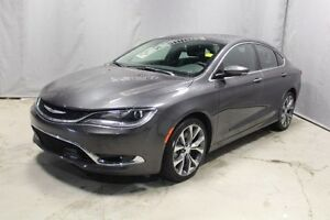 2016 Chrysler 200 C Navigation (GPS),  Leather,  Heated Seats,