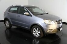 2011 Ssangyong Korando C200 SX AWD Silver 6 Speed Manual Wagon Welshpool Canning Area Preview