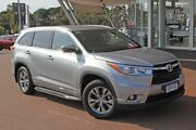2014 Toyota Kluger GSU50R GXL 2WD Silver Sky 6 Speed Sports Automatic Wagon Myaree Melville Area Preview