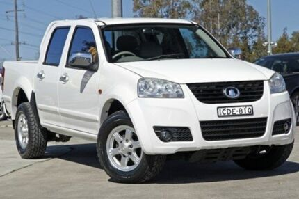 2011 Great Wall V200 K2 MY11 White 6 Speed Manual Utility Penrith Penrith Area Preview