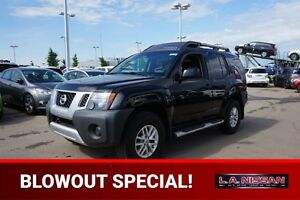 2014 Nissan Xterra 4X4 OFF-ROAD Accident Free,  Bluetooth,  A/C,
