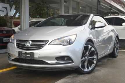 2015 Holden Cascada CJ MY16 Silver 6 Speed Sports Automatic Convertible