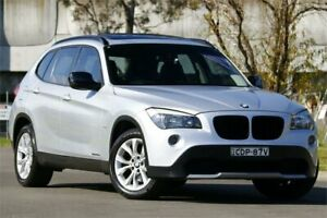 2011 BMW X1 E84 MY11 xDrive20d Steptronic Silver 6 Speed Sports Automatic Wagon Granville Parramatta Area Preview