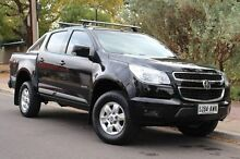 2013 Holden Colorado RG MY13 LT Crew Cab Black 6 Speed Sports Automatic Utility Thebarton West Torrens Area Preview