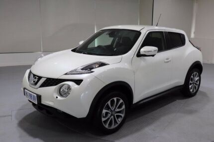 2016 Nissan Juke F15 Series 2 Ti-S 2WD White 6 Speed Manual Hatchback Invermay Launceston Area Preview