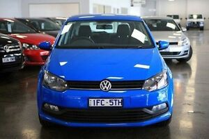 2016 Volkswagen Polo 6R MY16 Blue 7 Speed Sports Automatic Dual Clutch Hatchback Frankston Frankston Area Preview