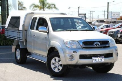 2011 Toyota Hilux Silver Manual Utility