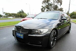 2008 BMW 323I E90 MY08 Steptronic Black 6 Speed Sports Automatic Sedan West Footscray Maribyrnong Area Preview