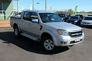 2011 Ford Ranger PK XLT Crew Cab Silver 5 Speed Automatic Utility Wakerley Brisbane South East Preview