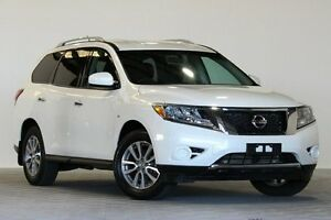 2014 Nissan Pathfinder R52 ST (4x2) White Continuous Variable Wagon Coopers Plains Brisbane South West Preview