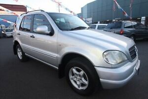 2000 Mercedes-Benz ML320 CLASSIC W163 Silver 5 Speed Sports Automatic Wagon Kingsville Maribyrnong Area Preview