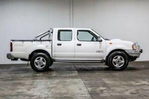 2010 Nissan Navara D22 MY2009 ST-R White 5 Speed Manual Utility