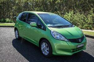 2012 Honda Jazz GE MY12 VIBE HATCHBACK 5DR AUT Green Automatic Port Macquarie Port Macquarie City Preview