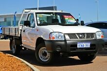 2011 Nissan Navara D22 S5 DX White 5 Speed Manual Cab Chassis East Rockingham Rockingham Area Preview