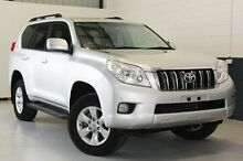 2012 Toyota Landcruiser Prado KDJ150R Altitude Silver 5 Speed Sports Automatic Wagon Blair Athol Port Adelaide Area Preview