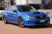 2012 Subaru Impreza G3 MY12 WRX AWD Blue 5 Speed Manual Sedan Glendalough Stirling Area Preview