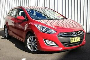 2014 Hyundai i30 GD Active Tourer Red 6 Speed Sports Automatic Wagon Kings Park Blacktown Area Preview