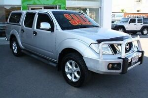 2012 Nissan Navara D40 S5 MY12 ST-X 550 Silver 7 Speed Sports Automatic Utility Mount Gravatt Brisbane South East Preview