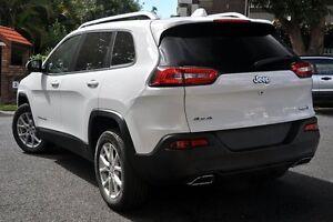 2015 Jeep Cherokee KL MY15 Longitude (4x4) White 9 Speed Automatic Wagon Mosman Mosman Area Preview