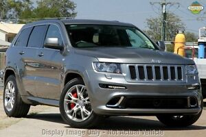 2012 Jeep Grand Cherokee WK MY2012 SRT-8 Grey 5 Speed Sports Automatic Wagon Upper Ferntree Gully Knox Area Preview