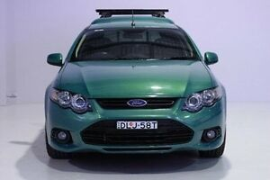2012 Ford Falcon FG MkII XR6 Ute Super Cab EcoLPi Green 6 Speed Sports Automatic Utility Wadalba Wyong Area Preview