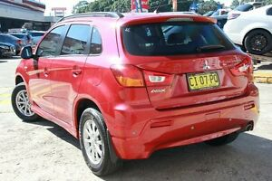 2012 Mitsubishi ASX XA MY12 Platinum Edition (2WD) Red Continuous Variable Wagon Wolli Creek Rockdale Area Preview