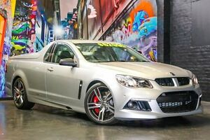 2015 Holden Special Vehicles Maloo GEN-F MY15 R8 Nitrate Silver 6 Speed Manual Utility West Perth Perth City Area Preview