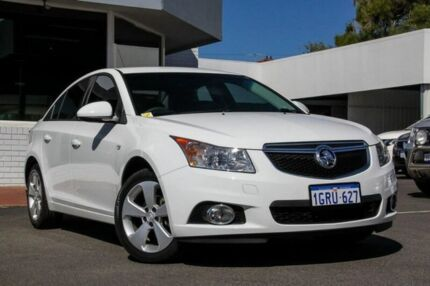 2014 Holden Cruze JH Series II MY14 Equipe White 6 Speed Sports Automatic Sedan Victoria Park Victoria Park Area Preview