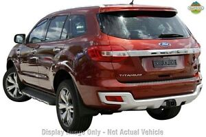2016 Ford Everest UA Titanium Maroon 6 Speed Sports Automatic Wagon Christies Beach Morphett Vale Area Preview