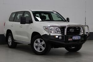 2011 Toyota Landcruiser VDJ200R Altitude SE White 6 Speed Automatic Wagon Bentley Canning Area Preview