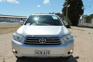 2010 Toyota Kluger GSU40R Grande (FWD) Silver 5 Speed Automatic Wagon Pennington Charles Sturt Area Preview