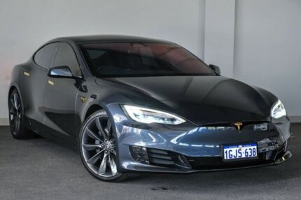 2017 Tesla Model S MY17 90D Silver 1 Speed Automatic Hatchback Bayswater Bayswater Area Preview