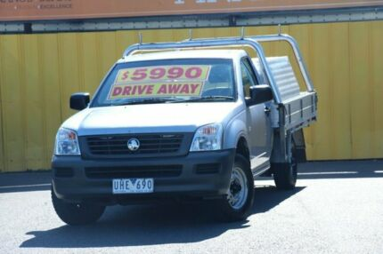 2005 Holden Rodeo RA MY05 DX 4x2 Grey 5 Speed Manual Cab Chassis Cheltenham Kingston Area Preview
