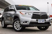 2015 Toyota Kluger GSU50R GX 2WD Silver Sky 6 Speed Sports Automatic Wagon Mindarie Wanneroo Area Preview