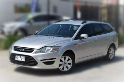 2011 Ford Mondeo MC LX PwrShift TDCi Silver 6 Speed Sports Automatic Dual Clutch Wagon Berwick Casey Area Preview