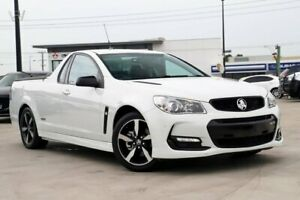 2016 Holden Ute VF II MY16 SS Ute Black White 6 Speed Sports Automatic Utility