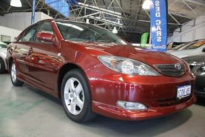 2003 Toyota Camry ACV36R Sportivo Tuscan Sunset 4 Speed Automatic Sedan Victoria Park Victoria Park Area Preview