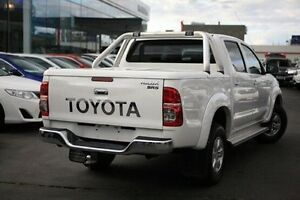 2010 Toyota Hilux White Automatic Utility Frankston Frankston Area Preview
