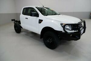 2014 Ford Ranger PX XL Hi-Rider White 6 Speed Sports Automatic Cab Chassis Kenwick Gosnells Area Preview