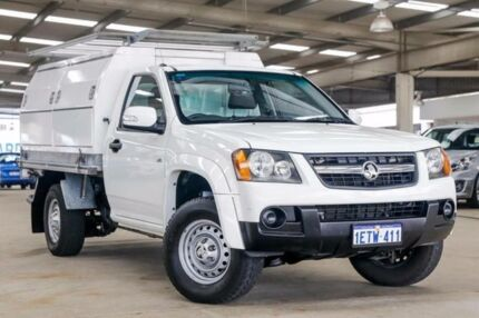 2008 Holden Colorado RC LX (4x2) White 4 Speed Automatic Cab Chassis