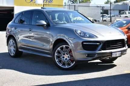2012 Porsche Cayenne 92A MY13 GTS Tiptronic Grey 8 Speed Sports Automatic Wagon Claremont Nedlands Area Preview